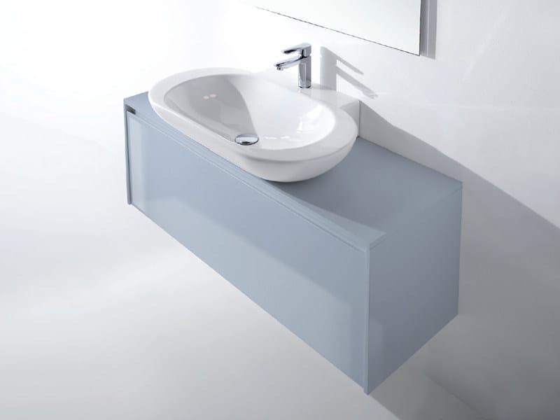Single wall-mounted vanity unit METROPOLIS 23 - LASA IDEA