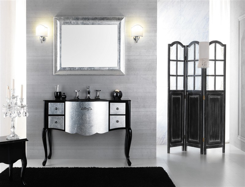 Lacquered vanity unit with drawers NOVECENTO 2 - LEGNOBAGNO