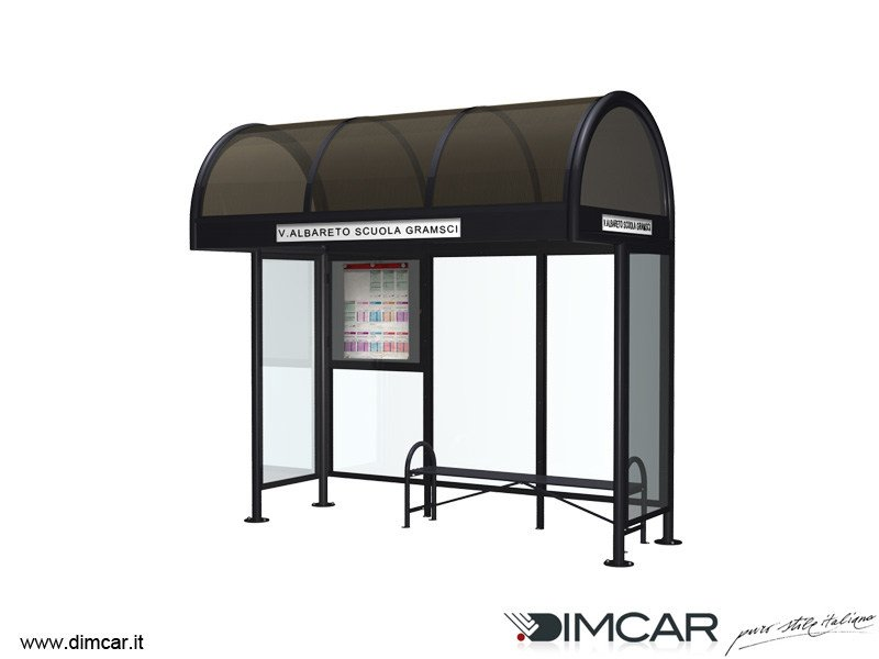 Metal porch for bus stop Pensilina Modena p.95 - DIMCAR