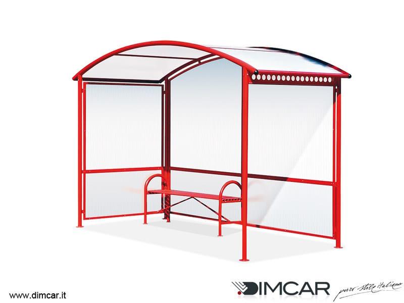 Metal porch for bus stop Pensilina Aurora - DIMCAR