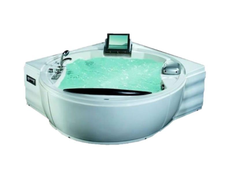 Corner whirlpool bathtub BL-508 | Whirlpool bathtub - Beauty Luxury
