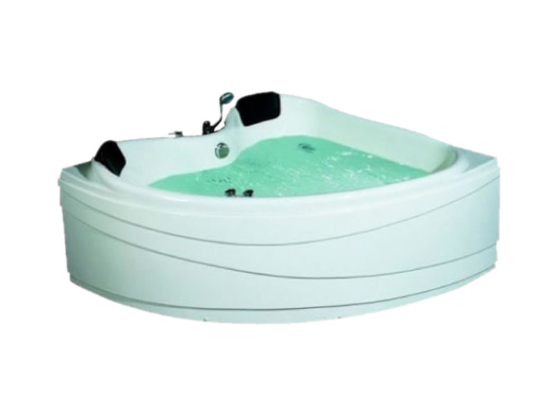 Corner whirlpool bathtub BL-509   Whirlpool bathtub - Beauty Luxury