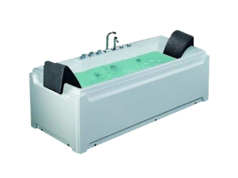 Vasca da bagno idromassaggio rettangolare bl 511 vasca - Vasca da bagno rettangolare ...