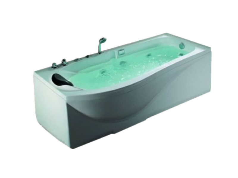 Whirlpool rectangular bathtub BL-512 | Whirlpool bathtub - Beauty Luxury