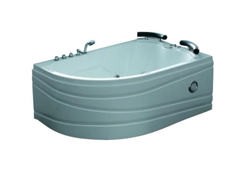 Corner whirlpool bathtub BL-521 | Whirlpool bathtub - Beauty Luxury