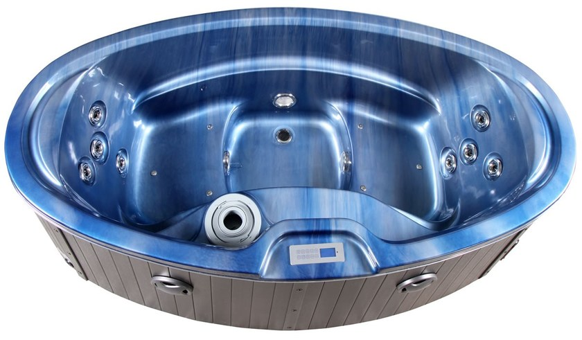Whirlpool oval bathtub BL-526 | Whirlpool bathtub - Beauty Luxury