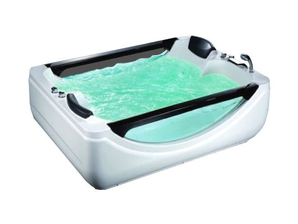 Whirlpool rectangular bathtub BL-505 | Whirlpool bathtub - Beauty Luxury