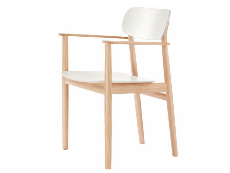 Solid wood chair 130 F - THONET