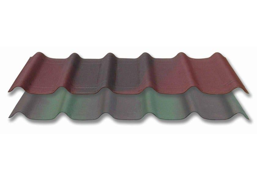 Tegole ondulate bitumate, resinate e colorate con effetto 3d ...