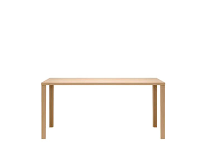 Rectangular beech table 1480 | Table - THONET