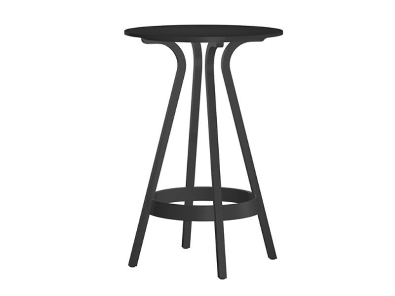 High stool with footrest 1410 | High stool - THONET