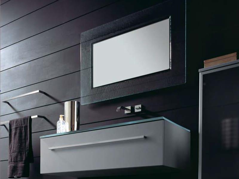 Single wall-mounted vanity unit THAIS 14 | Vanity unit by LASA IDEA
