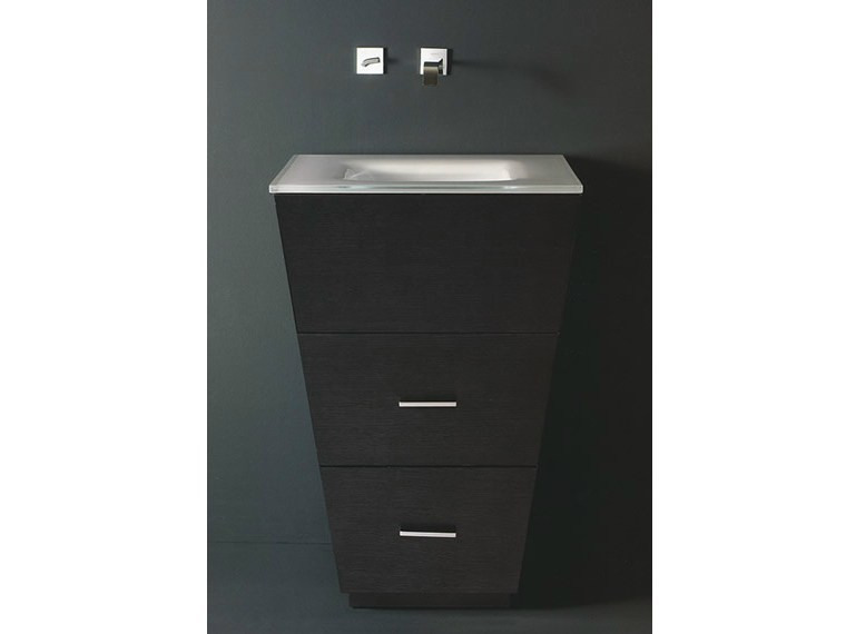 Floor-standing single vanity unit LIBECCIO 1 - LASA IDEA
