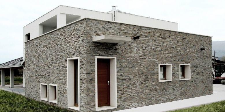 Rivestimento effetto pietra scaglia asiago italpietra - Rivestimento per esterno in pietra ...