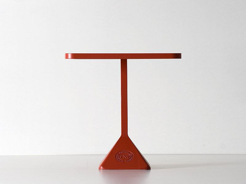 Cast iron coffee table TNP - Kristalia