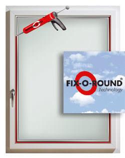 Fissaggio perimetrale continuo isolante per infissi fix o round by internorm italia - Prezzi finestre internorm ...