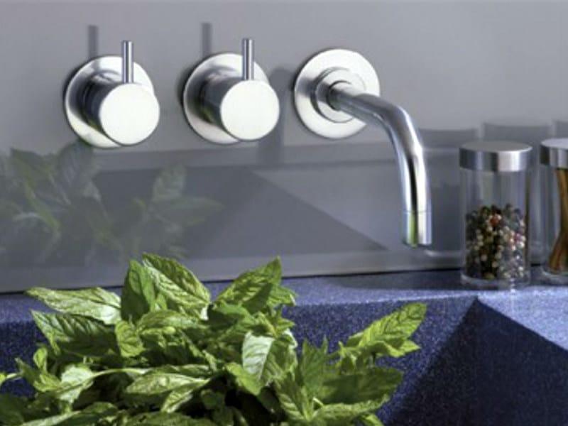3 hole wall-mounted washbasin tap 611 | Washbasin tap - VOLA