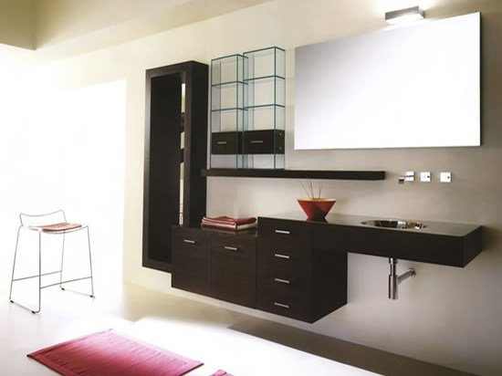 Wall-mounted vanity unit MARIPOSA 23 | Vanity unit - LASA IDEA