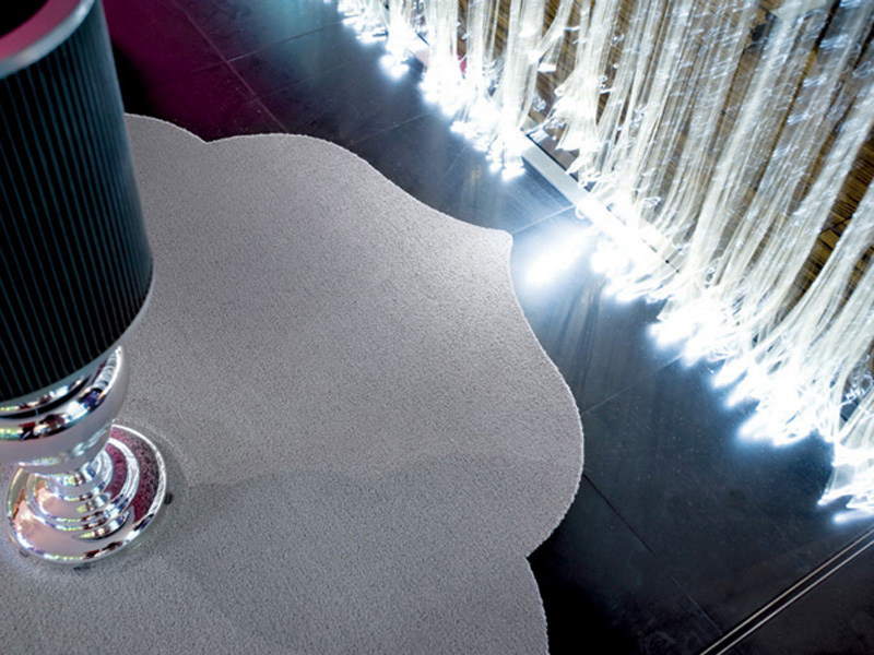 Solid-color polyamide rug SILHOUETTE 04 by OBJECT CARPET GmbH