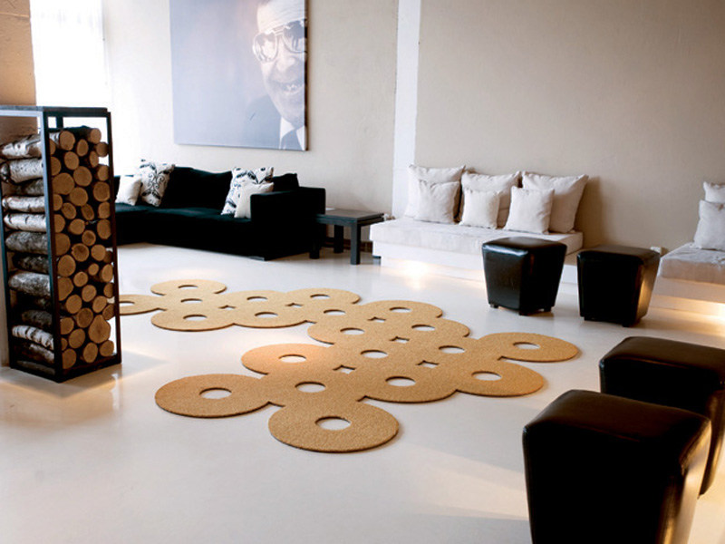 Solid-color polyamide rug SILHOUETTE 12 by OBJECT CARPET GmbH