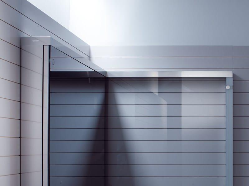 box doccia in vetro openspace duravit. Black Bedroom Furniture Sets. Home Design Ideas