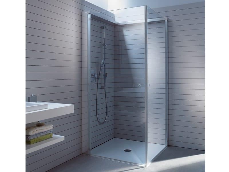 cabine de douche en verre openspace by duravit design eoos, Badkamer