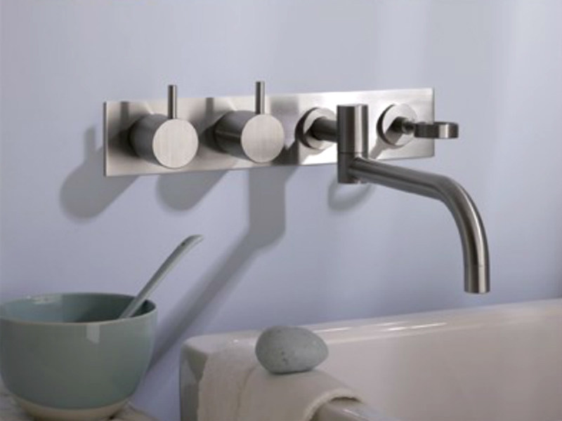 Wall-mounted kitchen tap with swivel spout 634T4 | Kitchen tap - VOLA