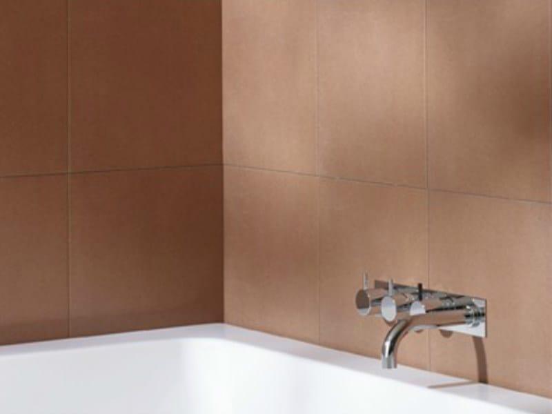 Thermostatic bathtub set with overhead shower 5414C-051A | Bathtub set - VOLA