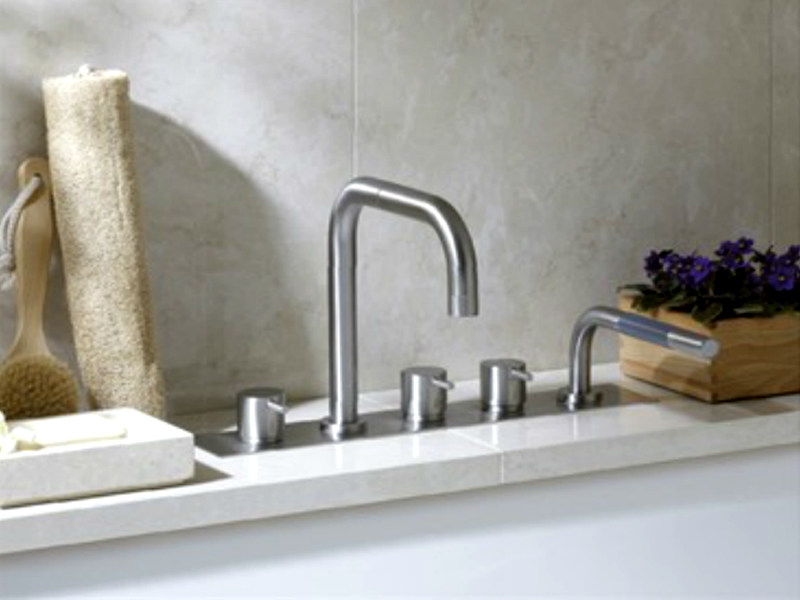 5 hole bathtub set with hand shower BK11 | Bathtub set - VOLA