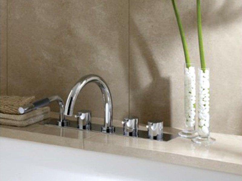 5 hole bathtub set with hand shower BK16 | Bathtub set - VOLA