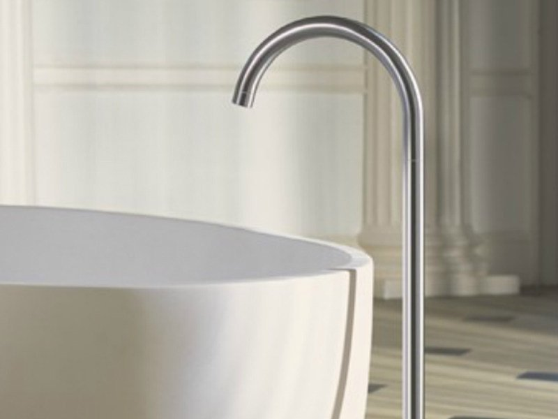 Floor standing bathtub spout 090FM | Bathtub spout - VOLA