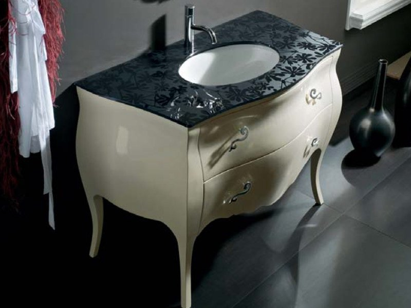 Floor-standing vanity unit with drawers BELLAGIO 3 by LASA IDEA