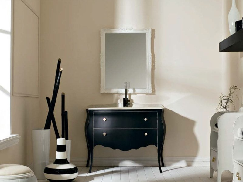 Classic style single vanity unit with drawers BELLAGIO 5 by LASA IDEA
