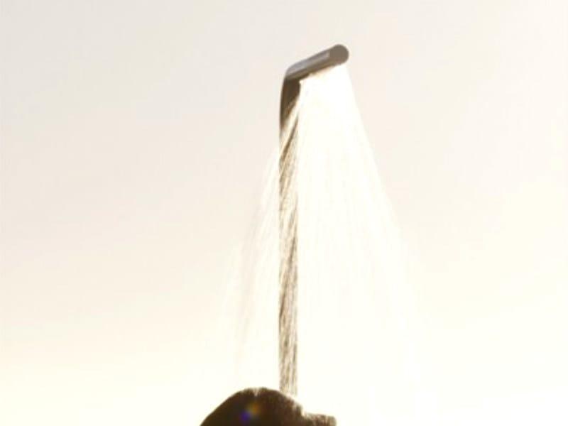 Floor standing shower panel with hand shower FS3 | Shower panel - VOLA