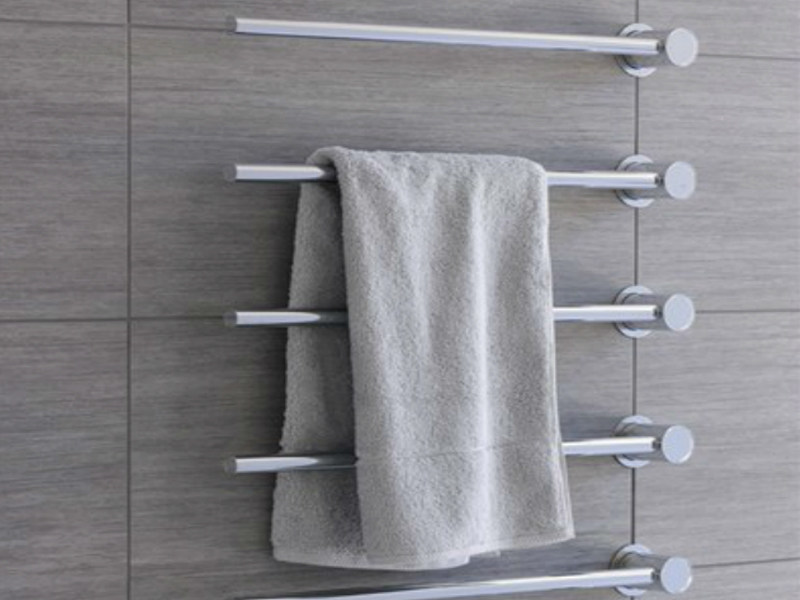 Vertical towel warmer T39W | Towel warmer - VOLA