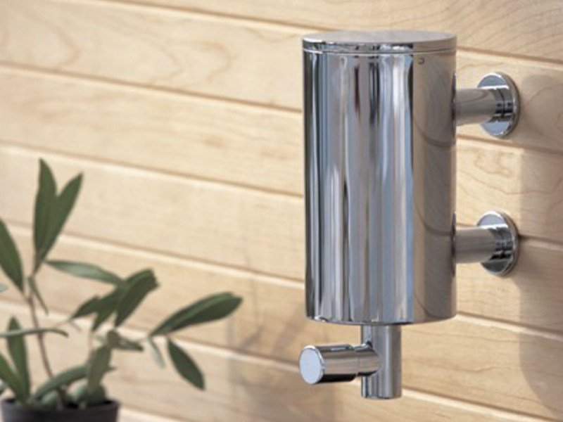 Wall-mounted liquid soap dispenser T10 | Liquid soap dispenser - VOLA
