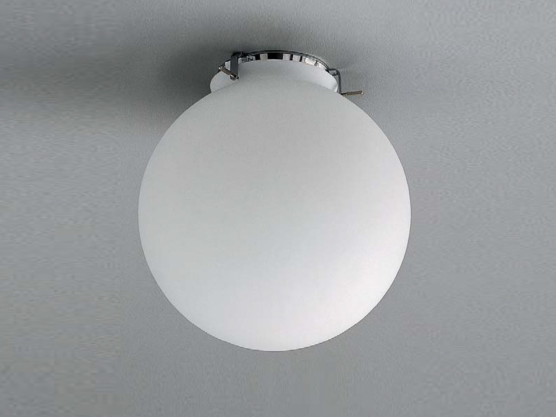 Steel ceiling lamp GLOBUS | Ceiling lamp - ZERO