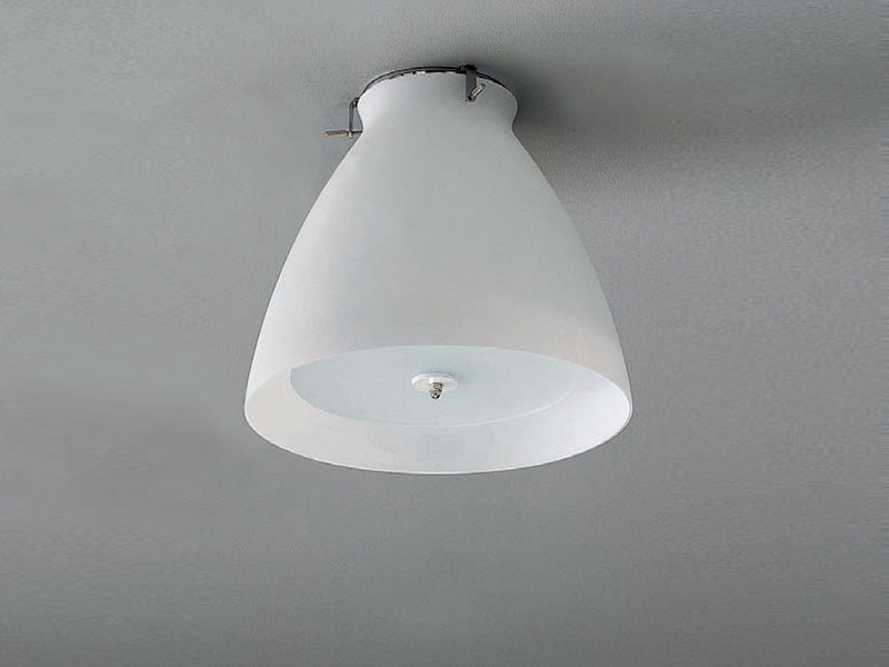 Steel ceiling lamp PS-KLOCKA | Ceiling lamp - ZERO