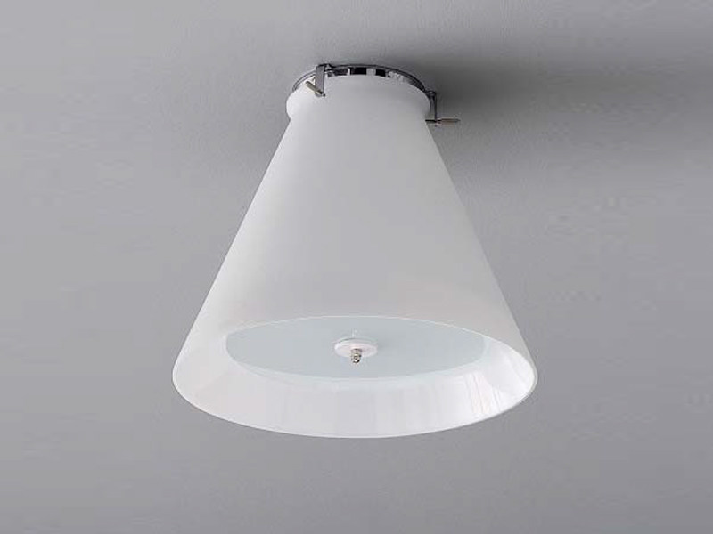 Steel ceiling lamp PS 1 - ZERO