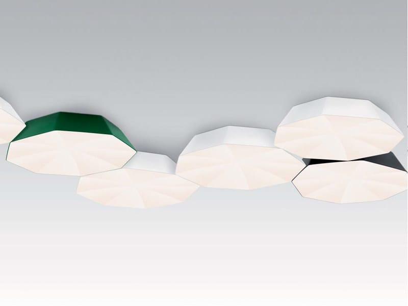 Opal glass ceiling lamp UMBRELLA | Ceiling lamp - ZERO