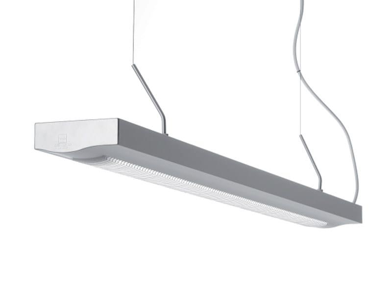 Aluminium pendant lamp VIVA SOLO OPTICAL by ZERO