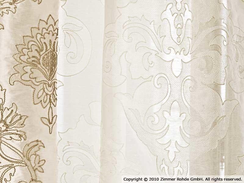 Linen curtain GIOCATORI - Zimmer + Rohde