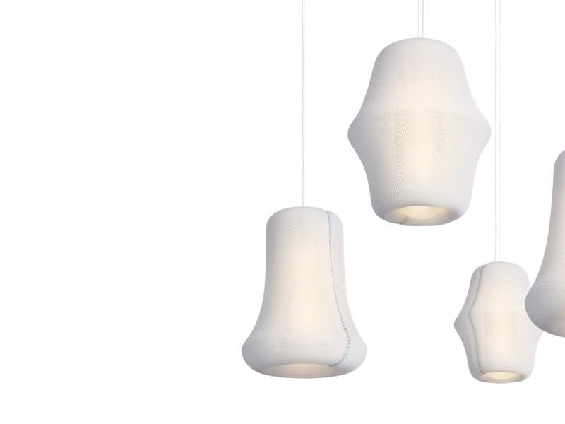 Polyester pendant lamp LOOM - ZERO