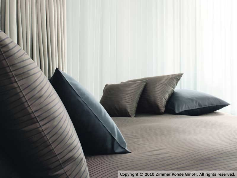 Striped cotton fabric MONTANA by Zimmer + Rohde