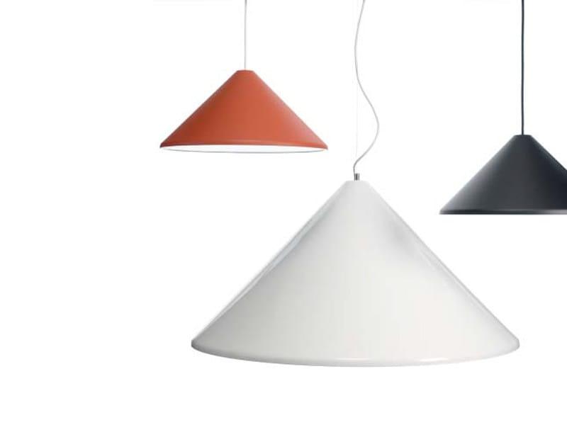 Aluminium pendant lamp POKER | Pendant lamp - ZERO