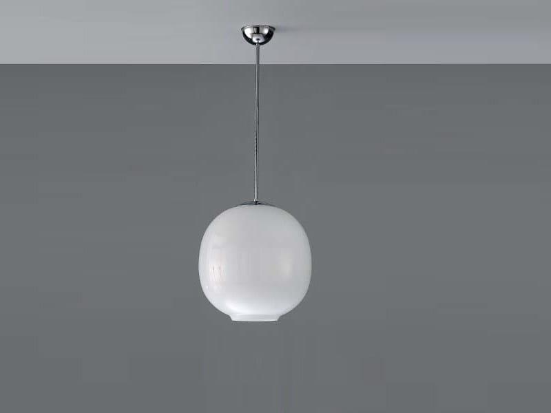Steel pendant lamp PUKEBERG ORIGINAL - ZERO