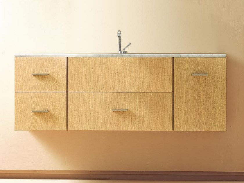 Wall-mounted vanity unit COMPOS 60 - LASA IDEA