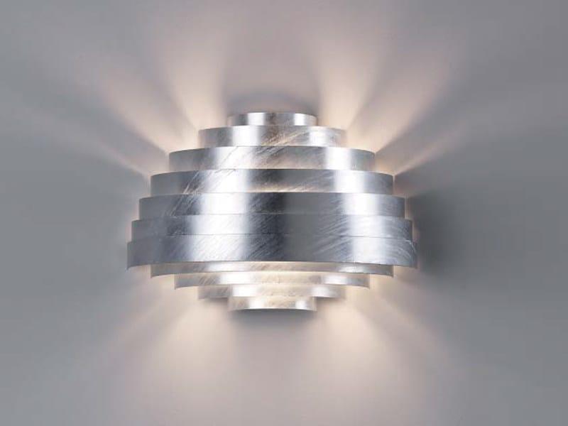 Galvanized steel wall lamp PXL | Wall lamp - ZERO