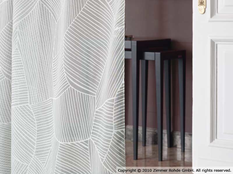 Polyester curtain FIELDS - Zimmer + Rohde