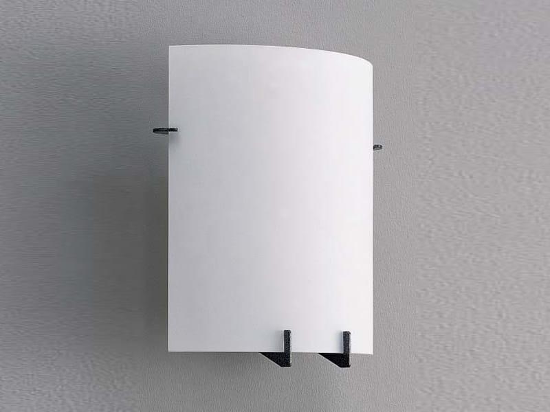 Glass wall lamp ARCAD | Wall lamp - ZERO